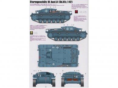 Tamiya - Sd.Kfz. 142 Sturmgeschütz III Ausf.B, Mastelis: 1/35, 35281 3