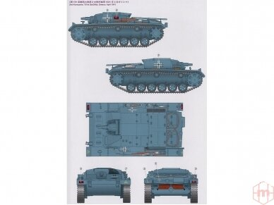 Tamiya - Sd.Kfz. 142 Sturmgeschütz III Ausf.B, Mastelis: 1/35, 35281 6