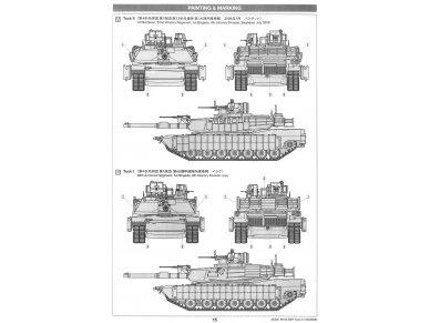 Tamiya - M1A2 SEP Abrams TUSK II, Mastelis: 1/35, 35326 18
