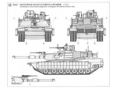 Tamiya - M1A2 SEP Abrams TUSK II, Mastelis: 1/35, 35326 19