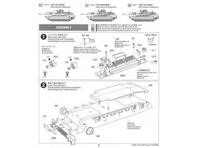 Tamiya - M1A2 SEP Abrams TUSK II, Mastelis: 1/35, 35326 20