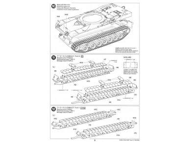 Tamiya - M1A2 SEP Abrams TUSK II, Mastelis: 1/35, 35326 23