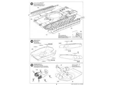 Tamiya - M1A2 SEP Abrams TUSK II, Mastelis: 1/35, 35326 24