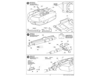 Tamiya - M1A2 SEP Abrams TUSK II, Mastelis: 1/35, 35326 25