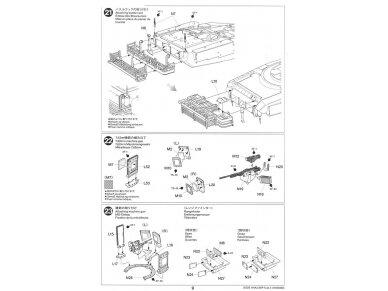 Tamiya - M1A2 SEP Abrams TUSK II, Mastelis: 1/35, 35326 27