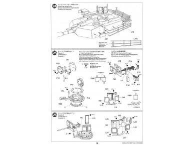 Tamiya - M1A2 SEP Abrams TUSK II, Mastelis: 1/35, 35326 28