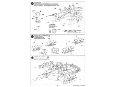 Tamiya - M1A2 SEP Abrams TUSK II, Mastelis: 1/35, 35326 30