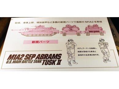 Tamiya - M1A2 SEP Abrams TUSK II, Mastelis: 1/35, 35326 8