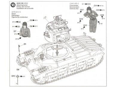 Tamiya - Matilda Mk.III/IV Red Army, Mastelis: 1/35, 35355 18