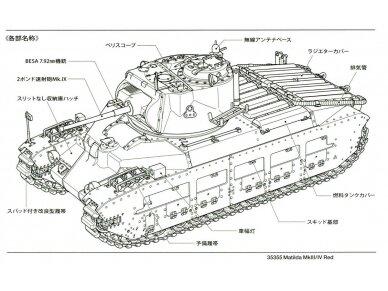 Tamiya - Matilda Mk.III/IV Red Army, Mastelis: 1/35, 35355 3