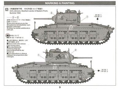 Tamiya - Matilda Mk.III/IV Red Army, Mastelis: 1/35, 35355 9