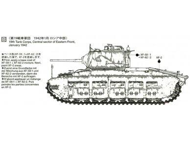 Tamiya - Matilda Mk.III/IV Red Army, Mastelis: 1/35, 35355 10