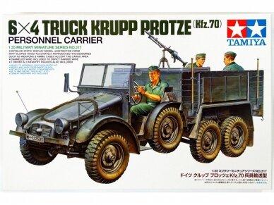 Tamiya - 6X4 Truck Krupp Protze (Kfz. 70) Personnel Carrier, Scale:1/35, 35317