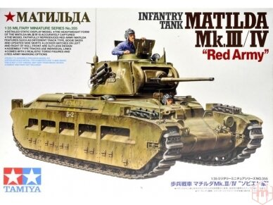 Tamiya - Matilda Mk.III/IV Red Army, Mastelis: 1/35, 35355