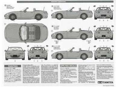 Tamiya - Mazda MX-5 Roadster, Mastelis: 1/24, 24342 13
