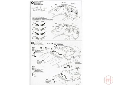 Tamiya - Mazda MX-5 Roadster, Mastelis: 1/24, 24342 21