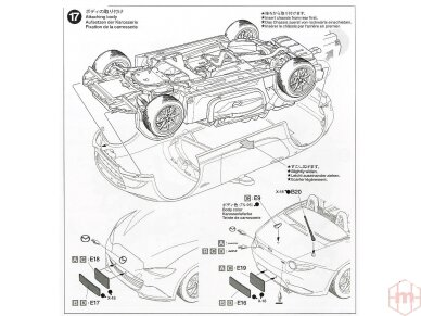 Tamiya - Mazda MX-5 Roadster, Mastelis: 1/24, 24342 22