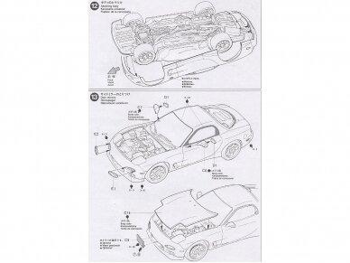 Tamiya - Mazda RX-7 R1, Mastelis: 1/24, 24116 13