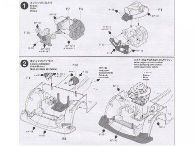 Tamiya - Mazda RX-7 R1, Mastelis: 1/24, 24116 7