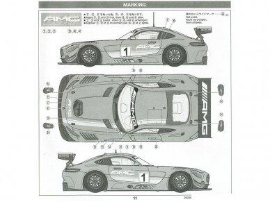 Tamiya - Mercedes AMG GT3, Mastelis: 1/24, 24345 16