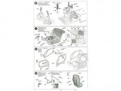 Tamiya - Mercedes AMG GT3, Mastelis: 1/24, 24345 19
