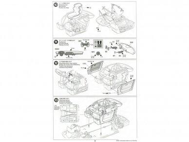 Tamiya - Mercedes AMG GT3, Mastelis: 1/24, 24345 20