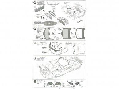 Tamiya - Mercedes AMG GT3, Mastelis: 1/24, 24345 22