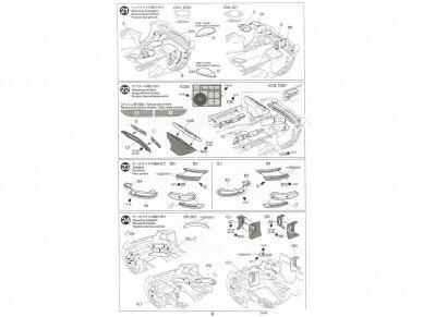 Tamiya - Mercedes AMG GT3, Mastelis: 1/24, 24345 23