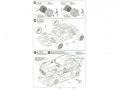 Tamiya - Mercedes AMG GT3, Mastelis: 1/24, 24345 24