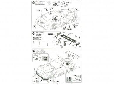 Tamiya - Mercedes AMG GT3, Mastelis: 1/24, 24345 25