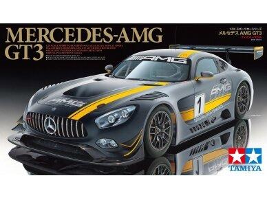 Tamiya - Mercedes AMG GT3, Mastelis: 1/24, 24345