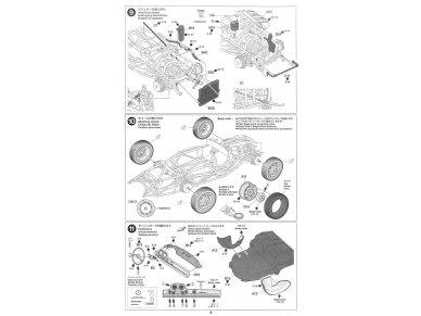 Tamiya - Mercedes-Benz 300 SL, Mastelis: 1/24, 24338 15