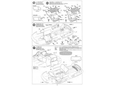 Tamiya - Mercedes-Benz 300 SL, Mastelis: 1/24, 24338 17