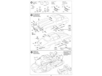 Tamiya - Mercedes-Benz 300 SL, Mastelis: 1/24, 24338 18