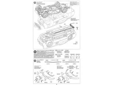 Tamiya - Mercedes-Benz 300 SL, Mastelis: 1/24, 24338 19