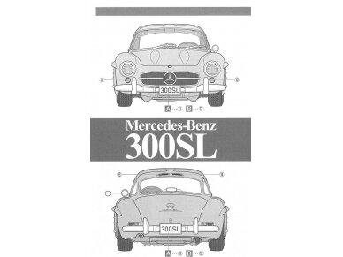 Tamiya - Mercedes-Benz 300 SL, Mastelis: 1/24, 24338 9