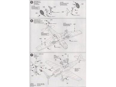 Tamiya - Messerschmitt Bf109 E-3, Mastelis: 1/72, 60750 11
