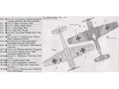 Tamiya - Messerschmitt Bf109 E-3, 1/72, 60750 5