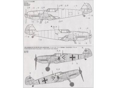 Tamiya - Messerschmitt Bf109 E-3, Mastelis: 1/72, 60750 6