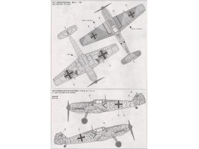 Tamiya - Messerschmitt Bf109 E-3, Mastelis: 1/72, 60750 8