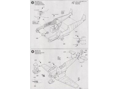 Tamiya - Messerschmitt Bf109 E-3, Mastelis: 1/72, 60750 10