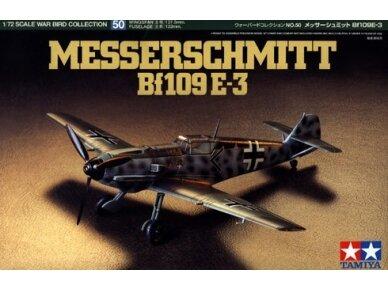 Tamiya - Messerschmitt Bf109 E-3, 1/72, 60750