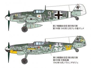 Tamiya - Messerschmitt Bf109 G-6, Mastelis: 1/48, 61117 12
