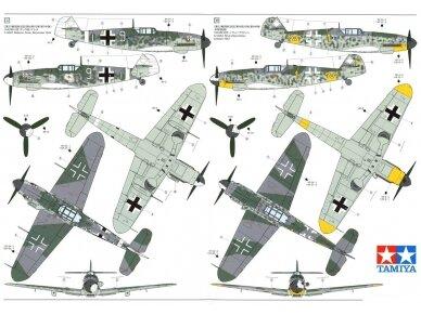Tamiya - Messerschmitt Bf109 G-6, Mastelis: 1/48, 61117 15