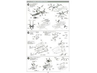 Tamiya - Messerschmitt Bf109 G-6, Mastelis: 1/48, 61117 27