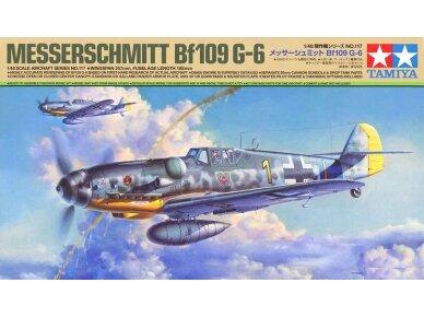 Tamiya - Messerschmitt Bf109 G-6, Mastelis: 1/48, 61117