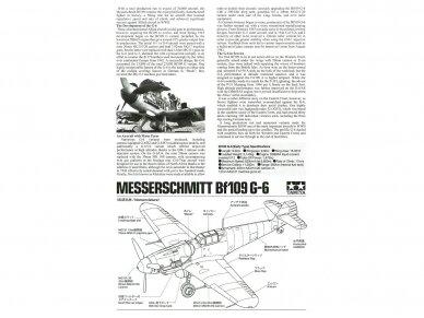 Tamiya - Messerschmitt Bf109 G-6, Mastelis: 1/72, 60790 4