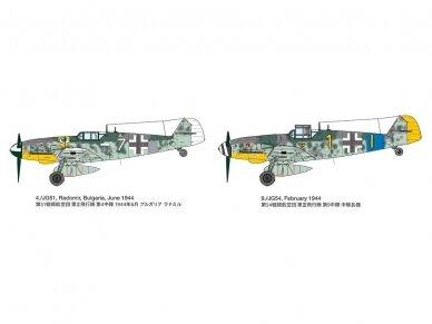 Tamiya - Messerschmitt Bf109 G-6, Mastelis: 1/72, 60790 10