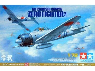 Tamiya - Mitsubishi A6M2b Zero Fighter (ZEKE), Mastelis: 1/72, 60780
