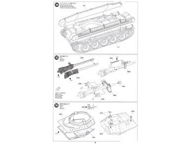 Tamiya - Mk.VI Crusader Mk.III, Mastelis: 1/35, 37025 14